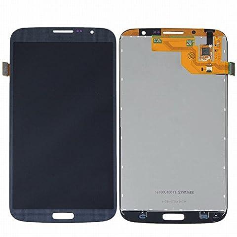 ixuan Pièce de remplacement Vitre Tactile Ecran LCD Assemblé pour Samsung Galaxy Mega 6.3 i527 i9200 i9205 Noir avec Outiles