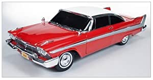 """1958 Plymouth Fury """"Christine"""" 1/18 by Autoworld AWSS102 by Autoworld TOY (English Manual)"""