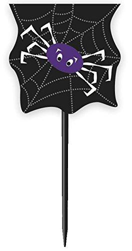 s Spider Web Halloween Cupcake Fällen und Cupcake Toppers Kit für 24 ()