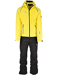 Emporio Armani EA7 mono de esquí con pantalones y chaqueta hombre invernal amari