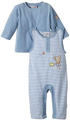 Julius Hüpeden Baby Boys 212290 Dungarees, Blue (Baby Blue 123000), 3-6 Months (Herstellergröße: 68)
