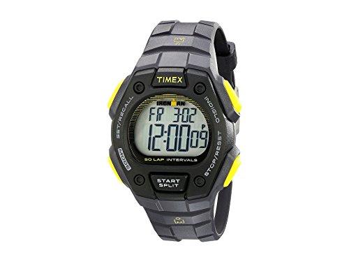 Timex Ironman Classic 50-Lap Full-Size Watch - Gray/Black/Yellow (56634) (Timex Ironman 50)