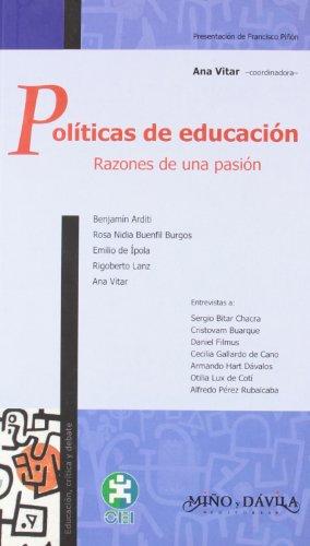 Politicas de educacion (Educacion, Critica & Debate) por Ana Vitar