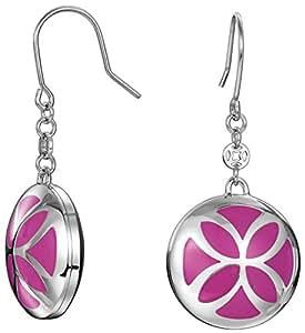Esprit Damen-Ohrhänger Edelstahl pink ESER12439C000