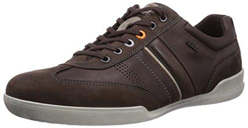 Ecco Enrico Herren Sneakers Braun (Mocha/Coffee Basalt/Sambal58500)