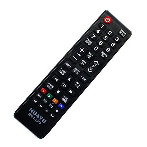 Ersatz Fernbedienung passend für Samsung LED LCD 3D UE32K5579 UE32K5579SUXZG Remote mit One-to-One PreProgrammed Connection - Easy Start Funktion ohne lästige Installation