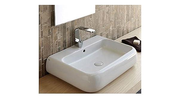 Cielo Wall Sinks Shui Wall Or Top Mount Sink Shls80 Amazon Co Uk