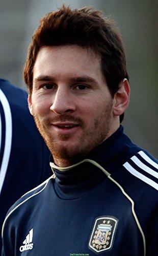 Lionel Messi Football (14x23 inch / 35x56 cm) Silk Print Poster Seide Plakat - Silk Printing - 475F75