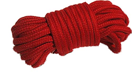 Rot weich Seil 10Meter Mehrzweck-waschbar von cufz