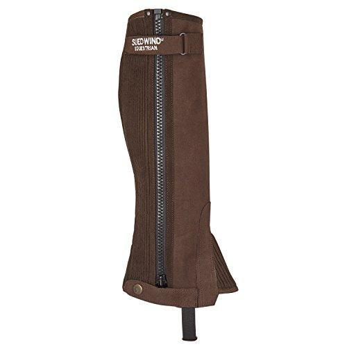 SUEDWIND FOOTWEAR Chap »Stretchy Soft CHAP« Sportlicher Stiefelschaft aus Amara | Elastikeinsatz entlang des Reißverschlusses | Farben: Schwarz, braun - XL 38-42/49-50