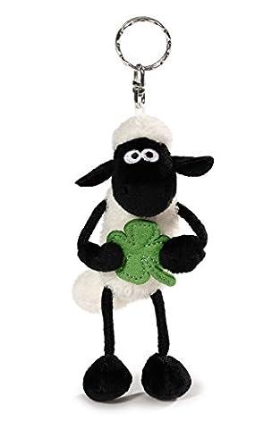 Nici 40663.0 - Shaun das Schaf mit Kleeblatt 10 cm Schlüsselanhänger