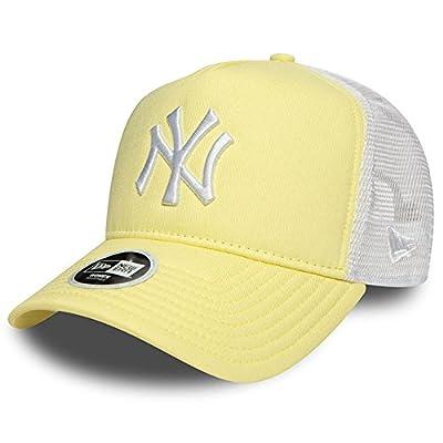 New Era - New York Yankees - New Era Adjustable Women Trucker Cap - League Essential - Yellow / White von NEW ERA auf Outdoor Shop