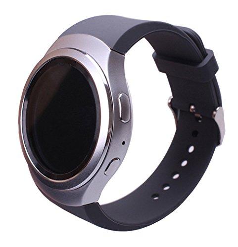 Samsung-Gear-S2-Correa-Silicona-Reemplazo-Banda-Pulsera-Correa-de-Reloj-Inteligente-martwatch-para-Samsung-Gear-S2silicone-grey