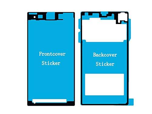 Flügel für Sony Xperia Z1 Compact Mini D5503 Front + Rückseite Backcover doppelseitiger Kleber, Klebefolie Adhesive für Display und Rückseite