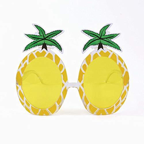 Xiton BA024 Ananas Brille, Unisex-Erwachsene, grün, Einheitsgröße