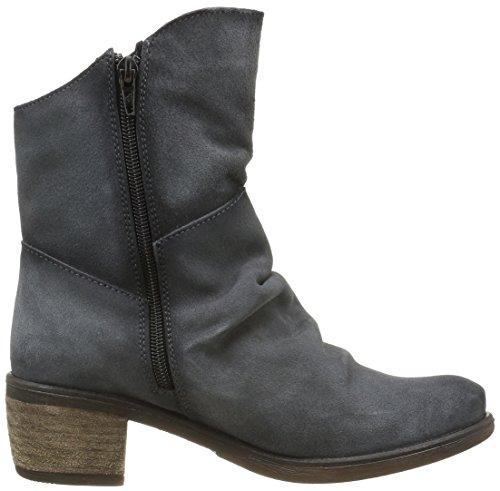 BUNKERBooty - Stivali a metà polpaccio con imbottitura leggera Donna Nero (Noir (Carbon))