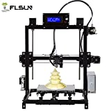 Prusa i3 3d Drucker DIY Kit RepRap Auto Nivellierung mit großen 3D Druck Größe Hohe Genauigkeit und Stabilität Beheiztes Bett LCD Display (schwarz)