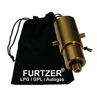 Furtzer LPG GPL Autogas Tankadapter M10 BAJONETT kurz Adapter mit Stoffbeutel by