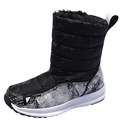 Kinlene Nuovi Stivali da Neve per Donna Impermeabili Scarpe Casual Comode Comode e Calde