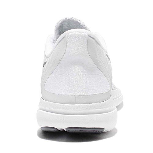 Nike Herren Men's Nike Free Rn Sense Running Shoe Laufschuhe Mehrfarbig (White/cool Grey/pure Platinum)