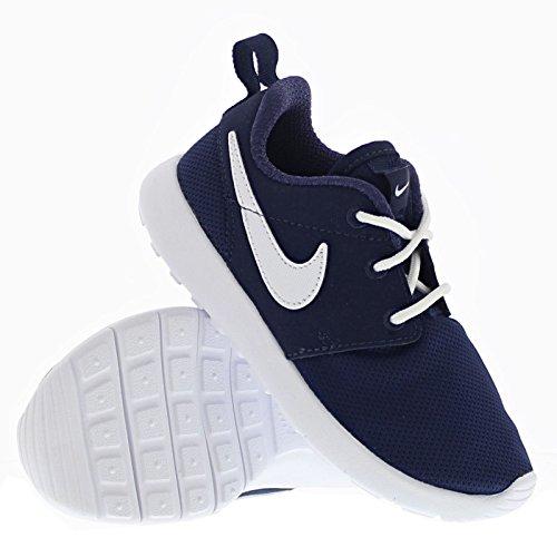 Nike Jungen Roshe One (PS) Laufschuhe, Schwarz Blau (Midnight Navy/White)