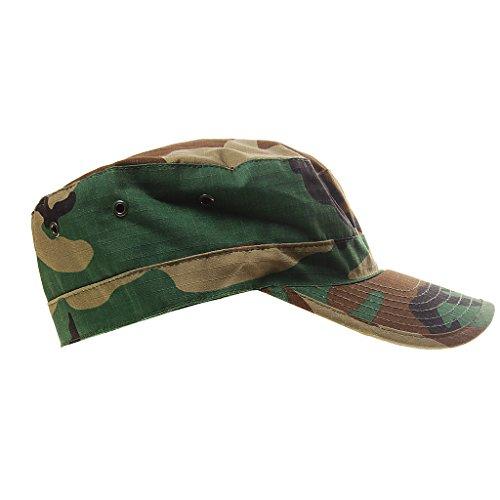 Casquettes Camouflage Réglable pour Camping Randonnée Chasse Escalade en Plein Air Hat Camouflage Loisirs Cap Camo 3