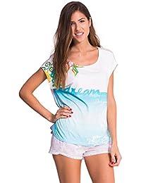 E it Camicie Notte Maglie Magliette Desigual Da Amazon Pigiami tpxqSBwqz