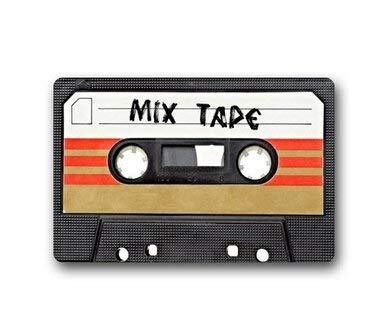 Vidmkeo Custom Mixtape Door Mat Machine-Washable Outdoor/Indoor Doormat