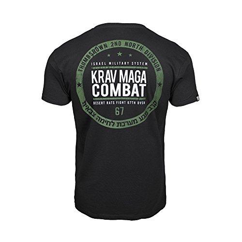 aa148bf88d3c Thumbsdown Pulgares Down Krav Maga Combat Camiseta Israel Militar Sistema  MMA. Gimnasio Entrenamiento. Marcial