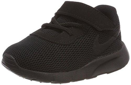 NIKE Tanjun (TD) Toddler Boys' Shoe, Scarpe da Ginnastica Basse Unisex-Bambini, Nero Black 001, 24 EU