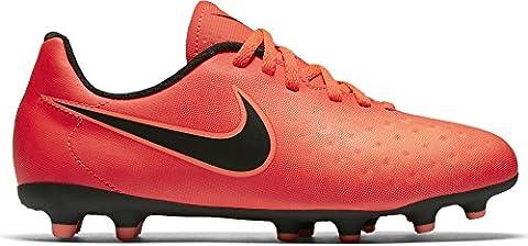 Nike Boys' Magista Ola II FG Football Boots, Red (Total Crimson/Black/Bright Mango), 5.5 UK 38.5