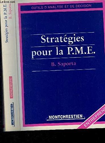 Strategies pour la pme : b. saporta.