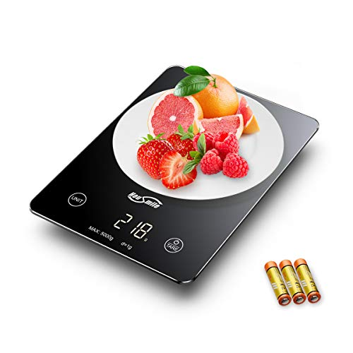 Elegant and resistant digital kitchen scale