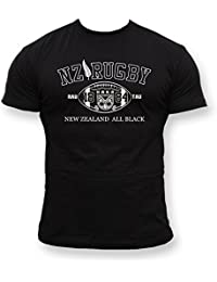 Dirty Ray Rugby New Zealand t-shirt homme T-Shirt K2