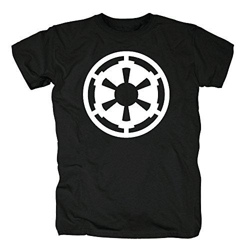 TSP Star Wars - Galaktisches Imperium Symbol T-Shirt Herren XXL Schwarz