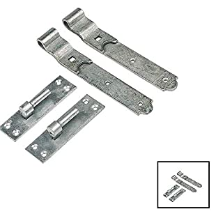 Wyre Direct Gate Hinges Cranked 300mm 12