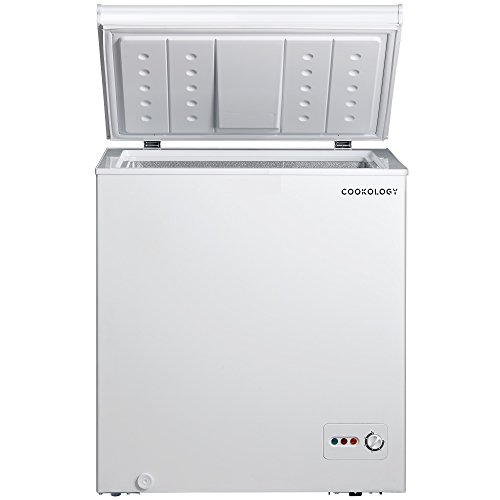 41tABrUXBAL. SS500  - Cookology CCF142WH White Outbuilding Chest Freezer, 142 Litre A+ Rated 73cm wide