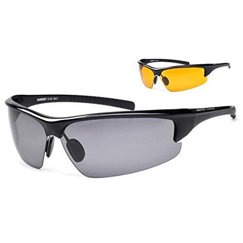 Arctica Sportbrille, Sonnenbrille, Polarisationsbrille + Wechselgläser SUNREEF S-123