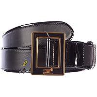 Fendi cintura donna vera pelle nuova originale patent