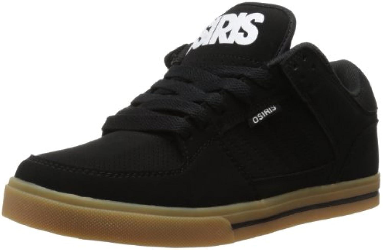 Osiris Men's Prossoocol Skate scarpe, nero bianca Gum, 5 M US | Elegante e solenne  | Sig/Sig Ra Scarpa