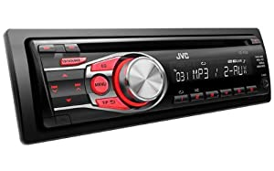 jvc kd r331 cd car stereo with front aux input cd mp3 playback electronics. Black Bedroom Furniture Sets. Home Design Ideas