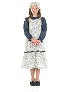 Fun Shack Victorian School Girl Childrens Costume - AGE 6 - 8 YRS (M)