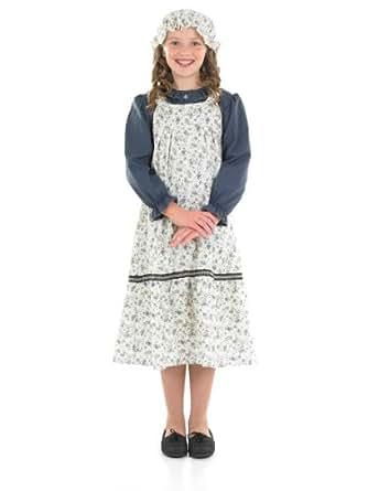 Fun Shack Victorian School Girl Childrens Costume - AGE 10 - 12 YRS (XL)