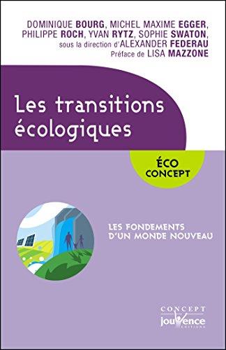 Les transitions écologiques (Concept Jouvence t. 11) par Alexander Federau