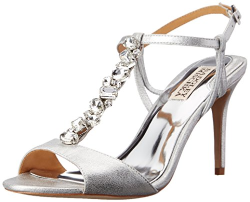 badgley-mischka-martina-ii-damen-us-10-silber-sandale