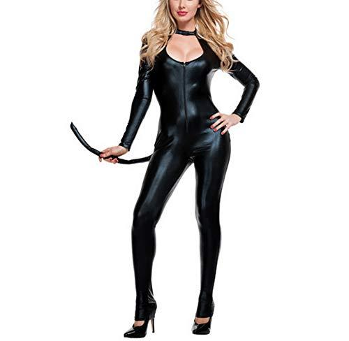 Halloween Overall Katze Nachtclub Cosplay Kostüm Bar Catwoman Bühne Kostüm Anzug