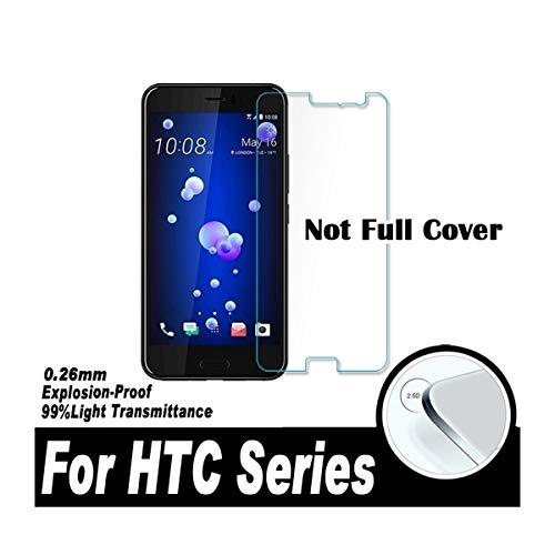 YAHOA Bildschirmschutz 0.26Mm 2.5D Screen Protector Protective Film for U12 Life U11 U Ultra 10 Evo Desire 12 Plus 10 Lifestyle Tempered Glass for HTC U11 Life Htc Hero Screen Protector
