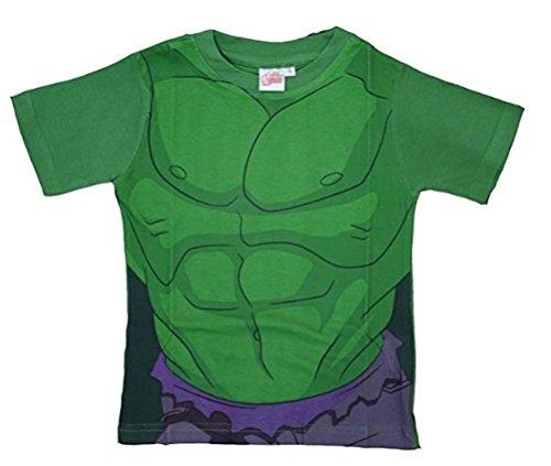 Marvel Avengers Unglaubliche Hulk Kostüm T-Shirt auch passend -