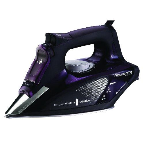 Rowenta DW5125 - Plancha (2400 W, golpe de vapor 150 g/min, suela Microsteam Laser 400 [Clase de eficiencia energética A] (Reacondicionado Certificado)