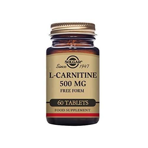 41tAIpOQ08L. SS500  - Solgar L-Carnitine 500 mg Tablets - Pack of 60